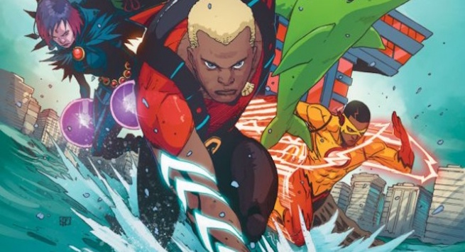 Benjamin Percy Discusses Expanding The Teen Titans' Lineup