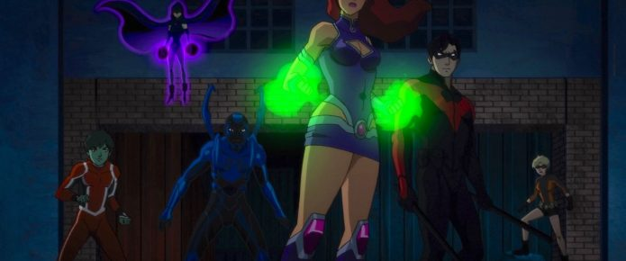 Starfire Hones Her Skills In New Teen Titans: The Judas Contract Clip