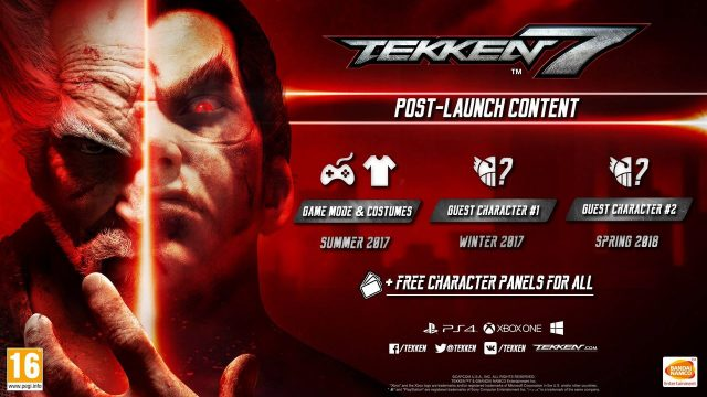 Tekken 7 DLC Plans Outlined, Two More Guest Characters In The Works