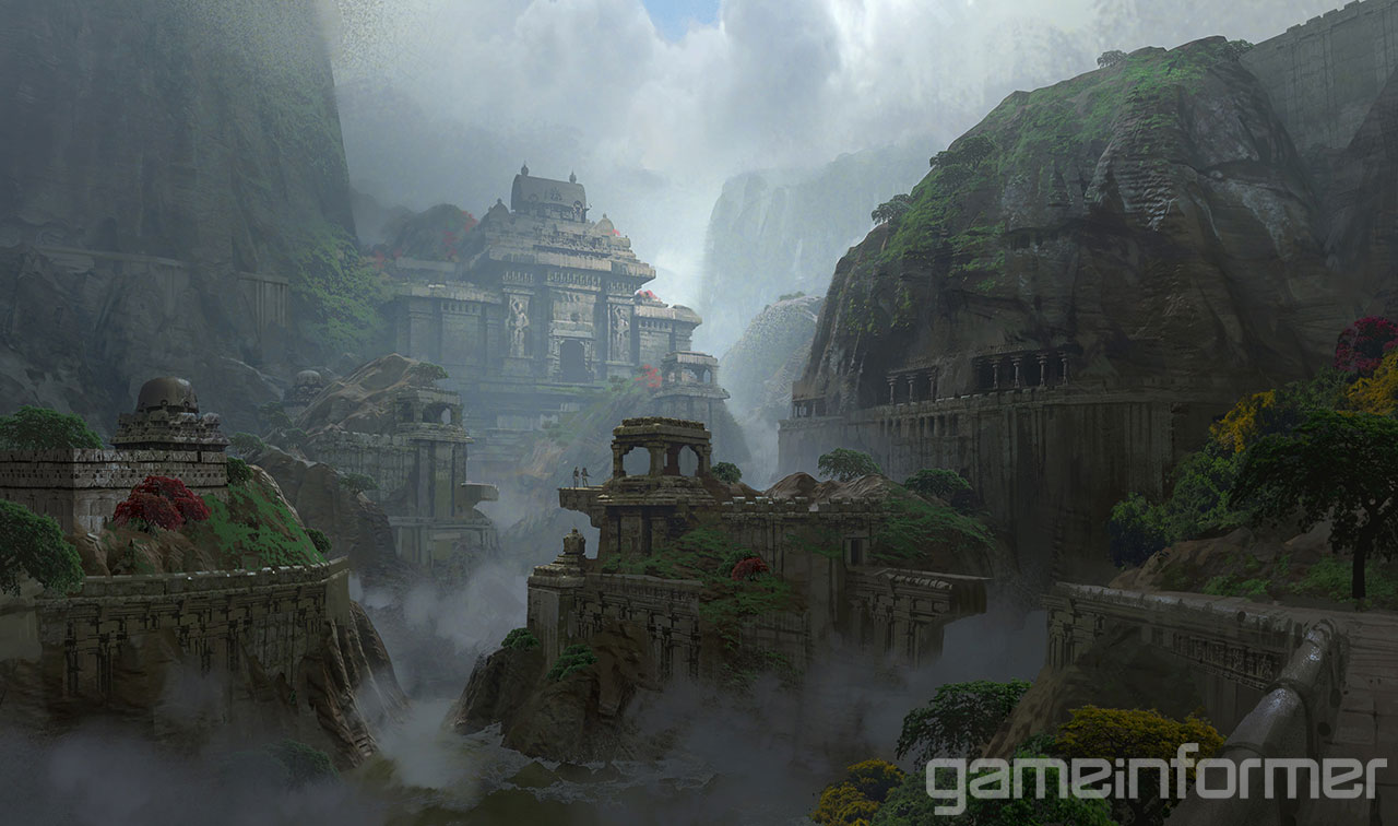 A Great Adventure Awaits Chloe And Nadine In Stunning Concept Art For Uncharted: The Lost Legacy