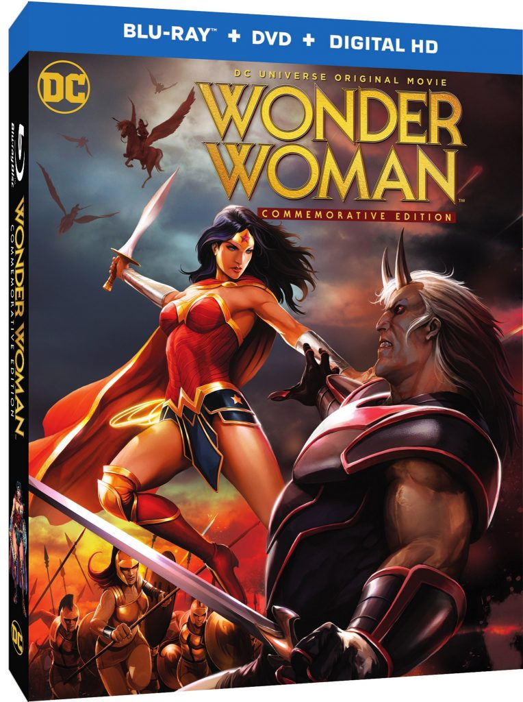 WB Announces Wonder Woman: Commemorative Edition On Blu-Ray