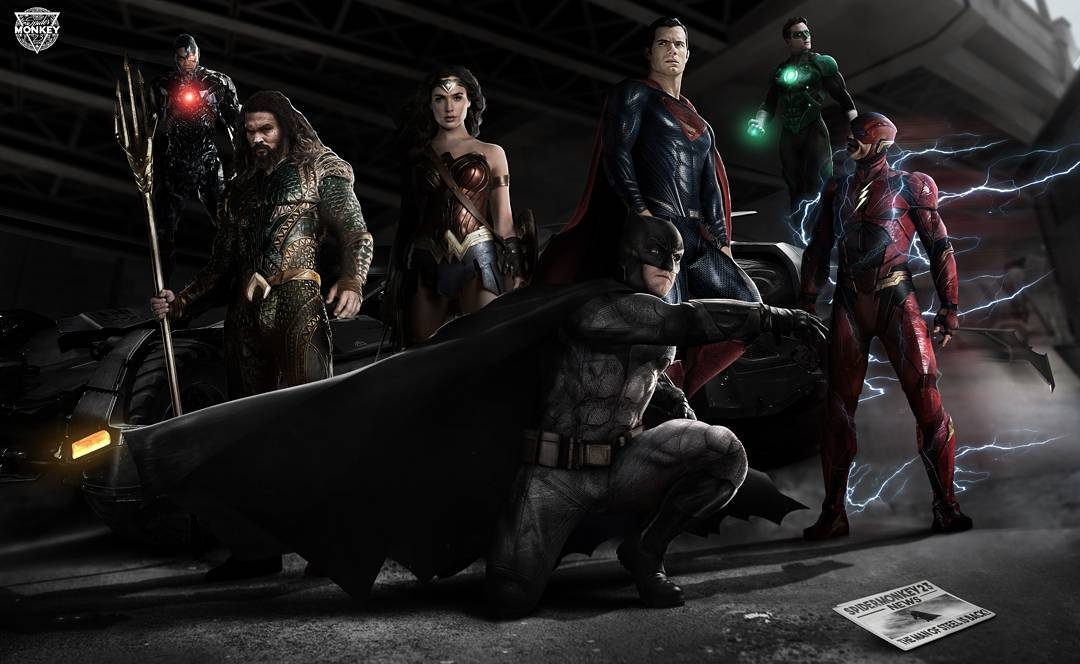 Superman And Green Lantern Join The Team In New Justice League Fan-Art