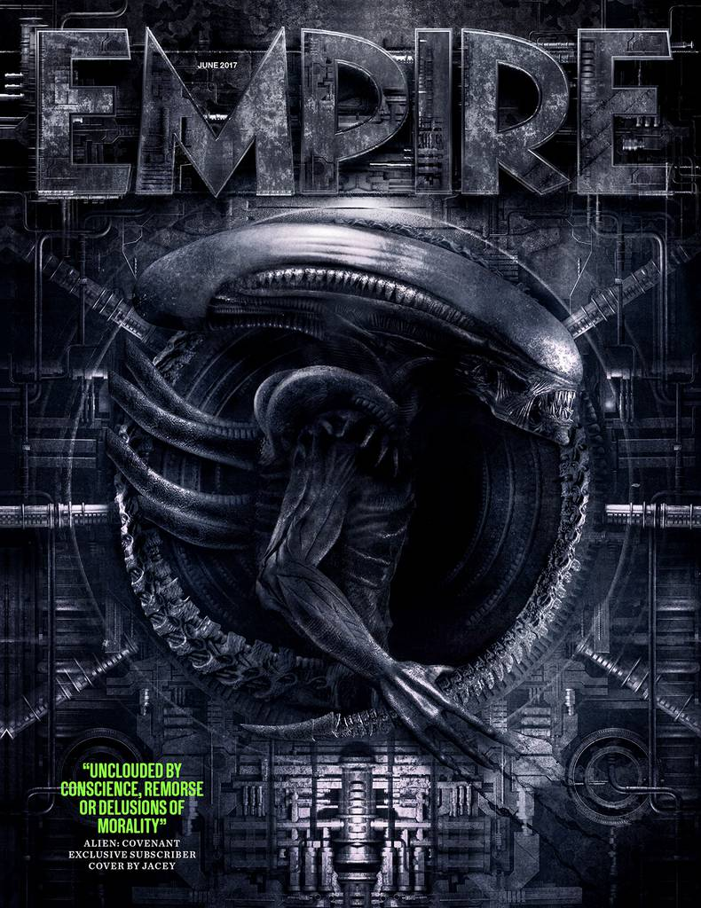 Alien: Covenant Slithers Onto The Cover Of Empire Magazine As New Images Spotlight The Neomorph