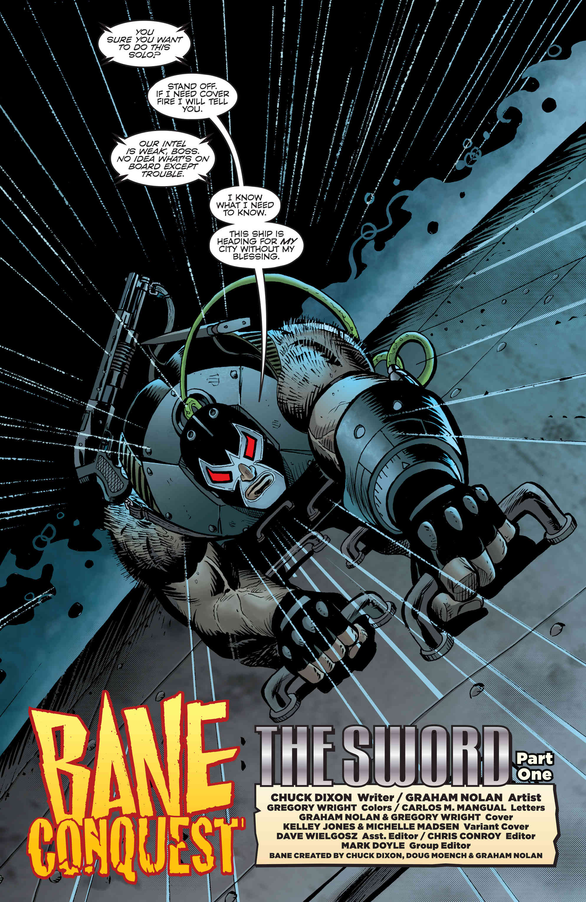 Bane: Conquest #1 Review