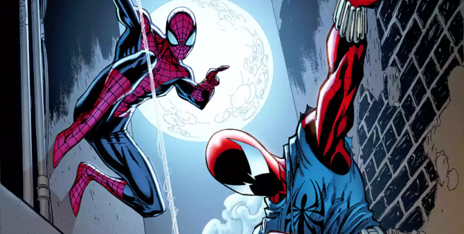Check Out J. Scott Campbell's Spectacular Ben Reilly: The Scarlet Spider # 1 Variant