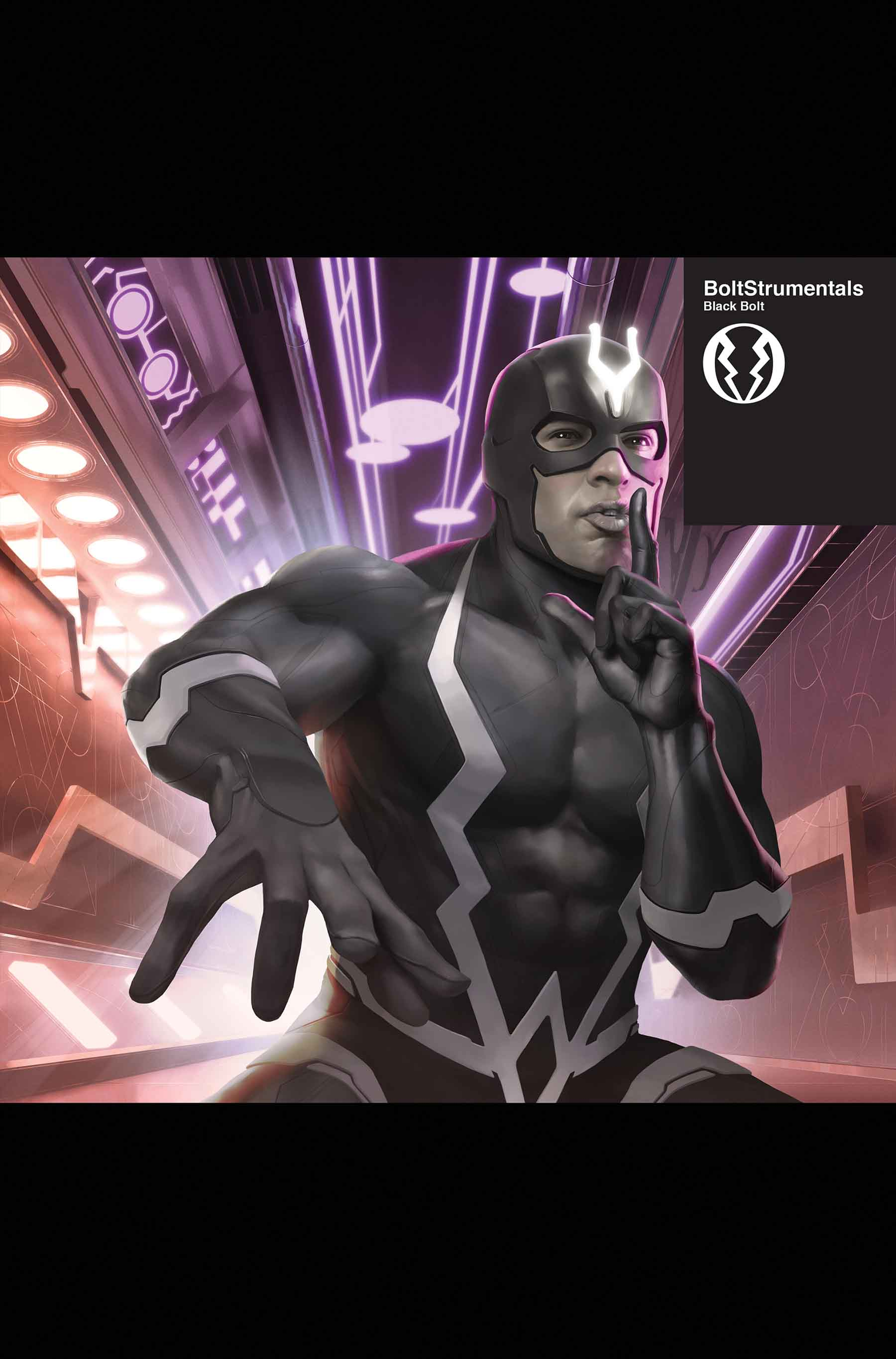 Black Bolt #1 First Look Will Leave You Speechless