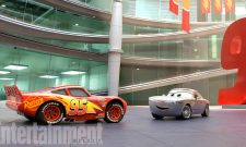 Nathan Fillion's Suave Charmer Sterling Rolls Out Of The Showroom In New Pic For Cars 3