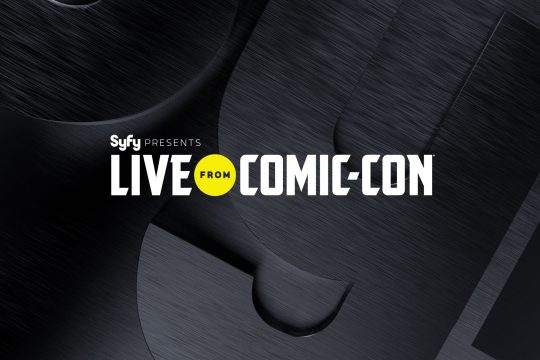 SyFy Returns To San Diego With Live From Comic-Con