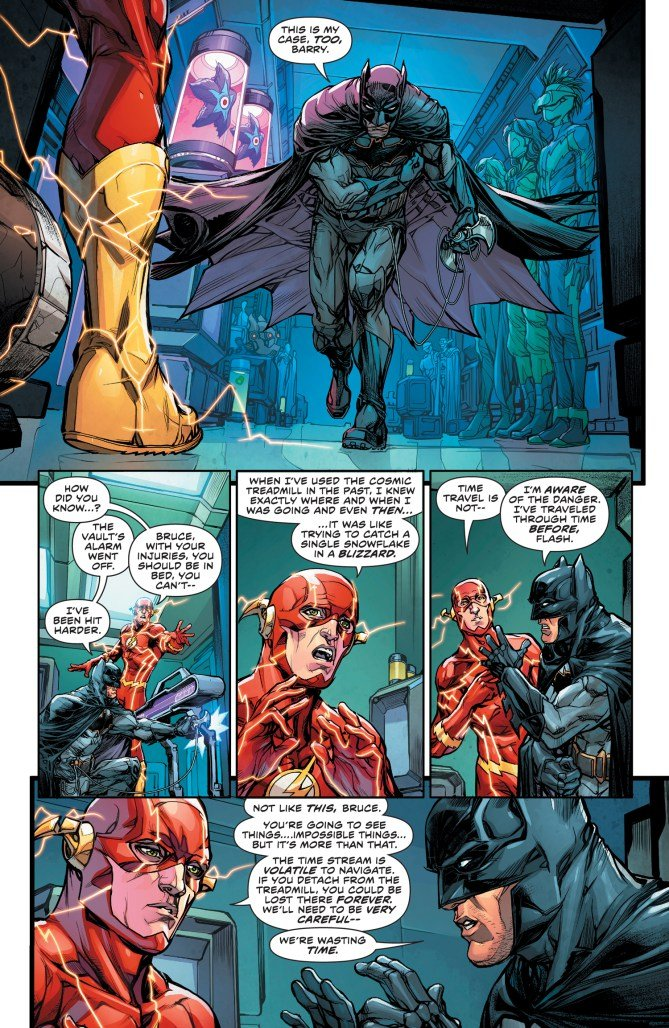 """The Button"" Part Two Takes The Flash And Batman Back To A Familiar World"
