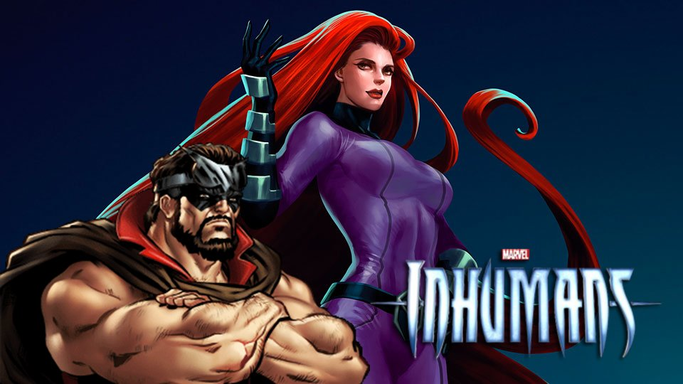 New Inhumans Set Pics Spotlight Radically Different Looks For Medusa And Gorgon