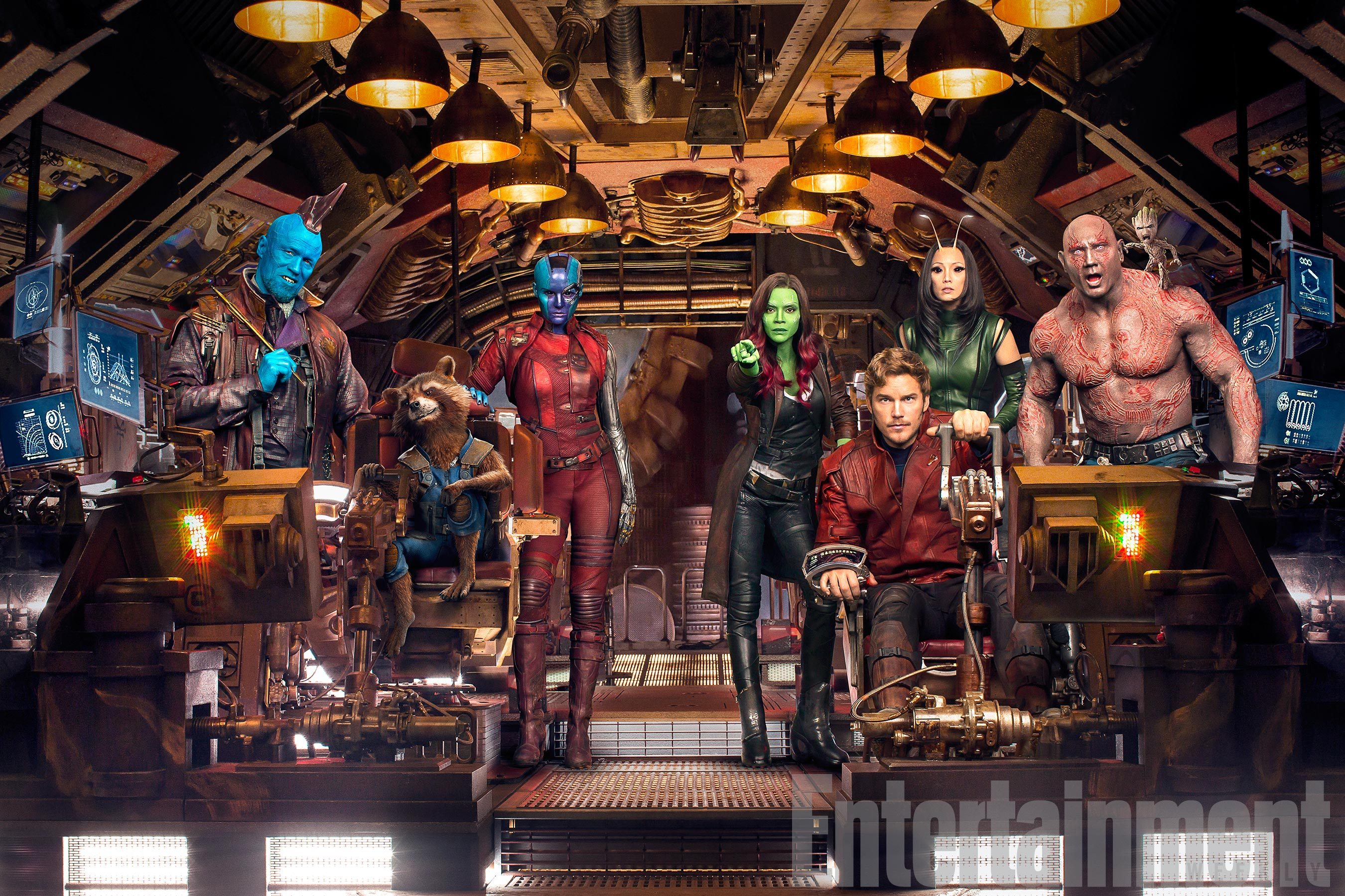 Gorgeous New Stills For Guardians Of The Galaxy Vol. 2 Feature Gamora, Rocket And Little Baby Groot