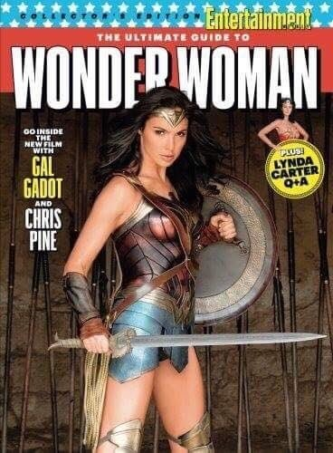 Wonder Woman Steals The Spotlight On EW Cover As Tickets Go On Sale In The UK
