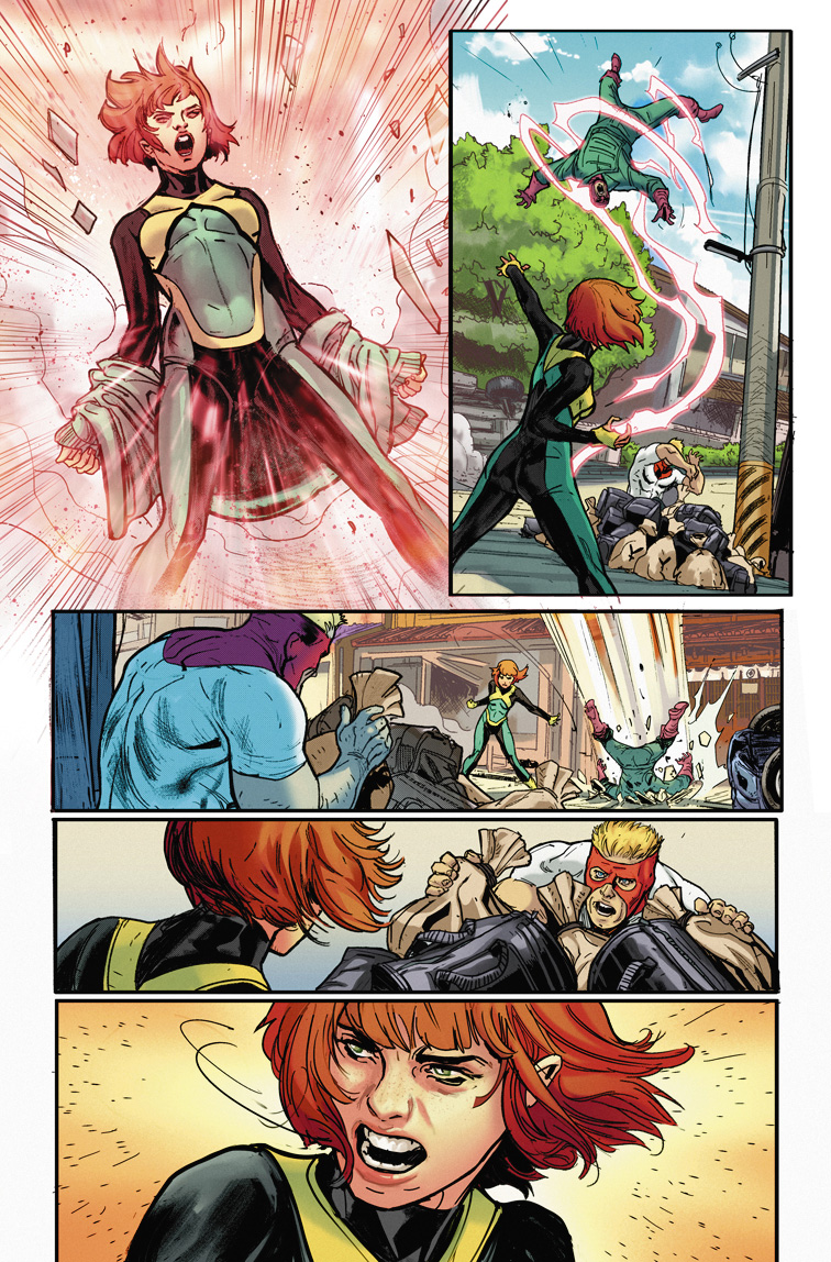 The Phoenix Force Looms In Jean Grey #1 First Look