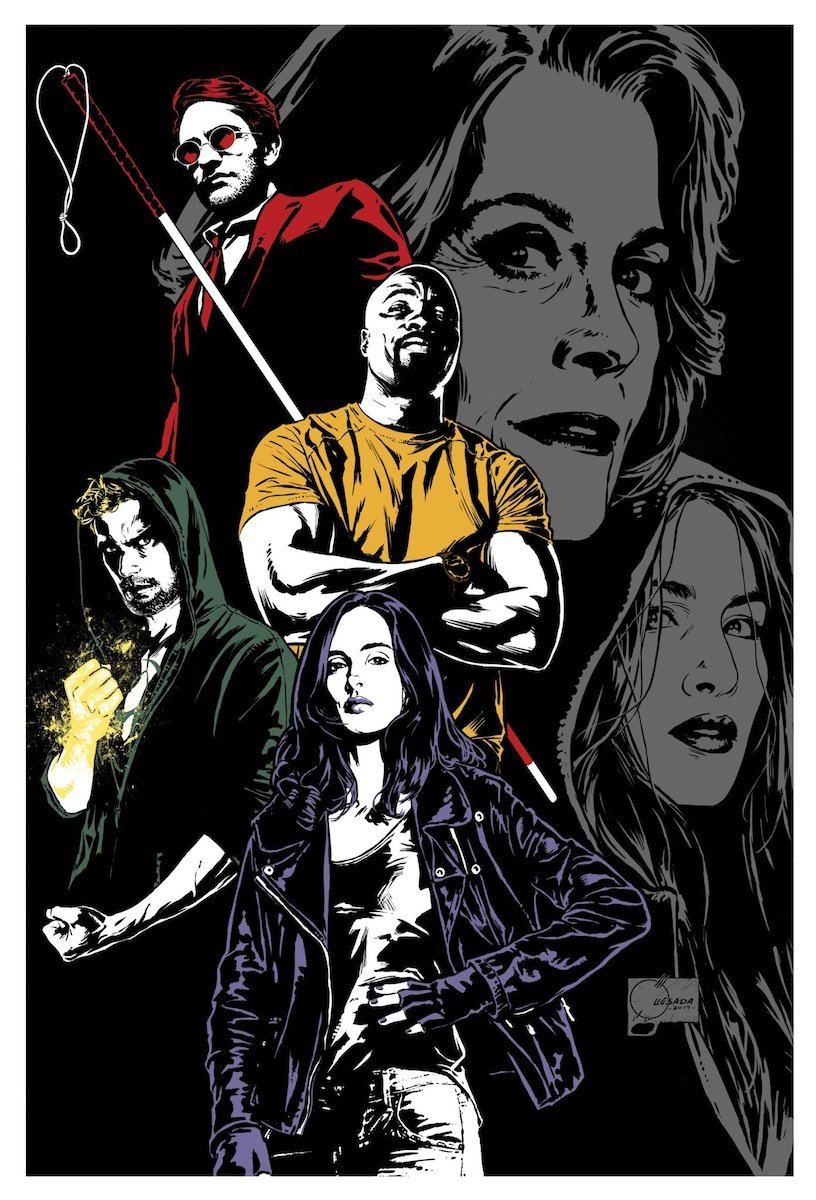 The Team Assembles In Gorgeous New Poster For The Defenders