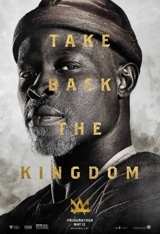 Another Poster For King Arthur: Legend Of The Sword Shifts The Focus To Djimon Hounsou