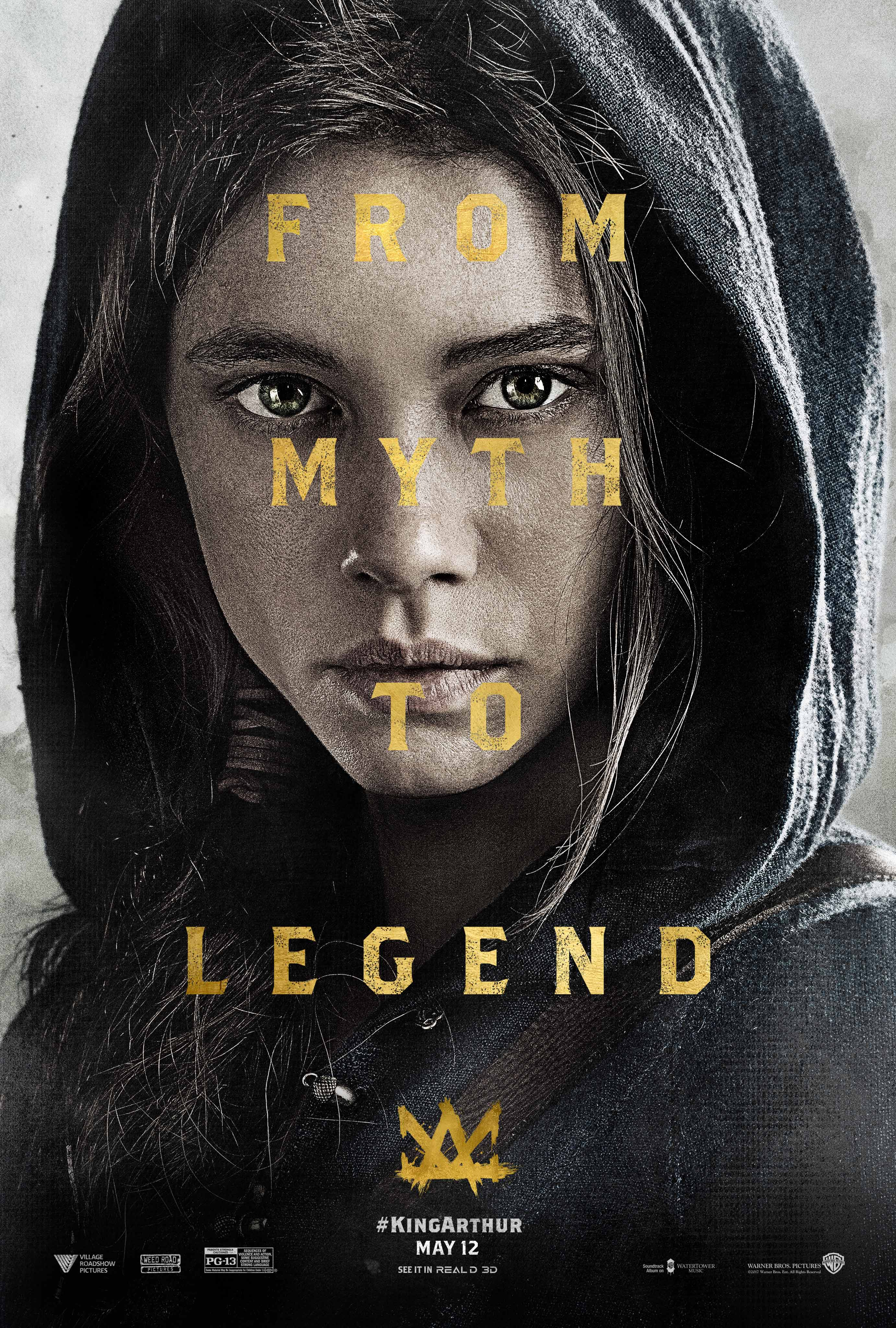 Myth Becomes Legend In New Character Poster For King Arthur: Legend Of The Sword