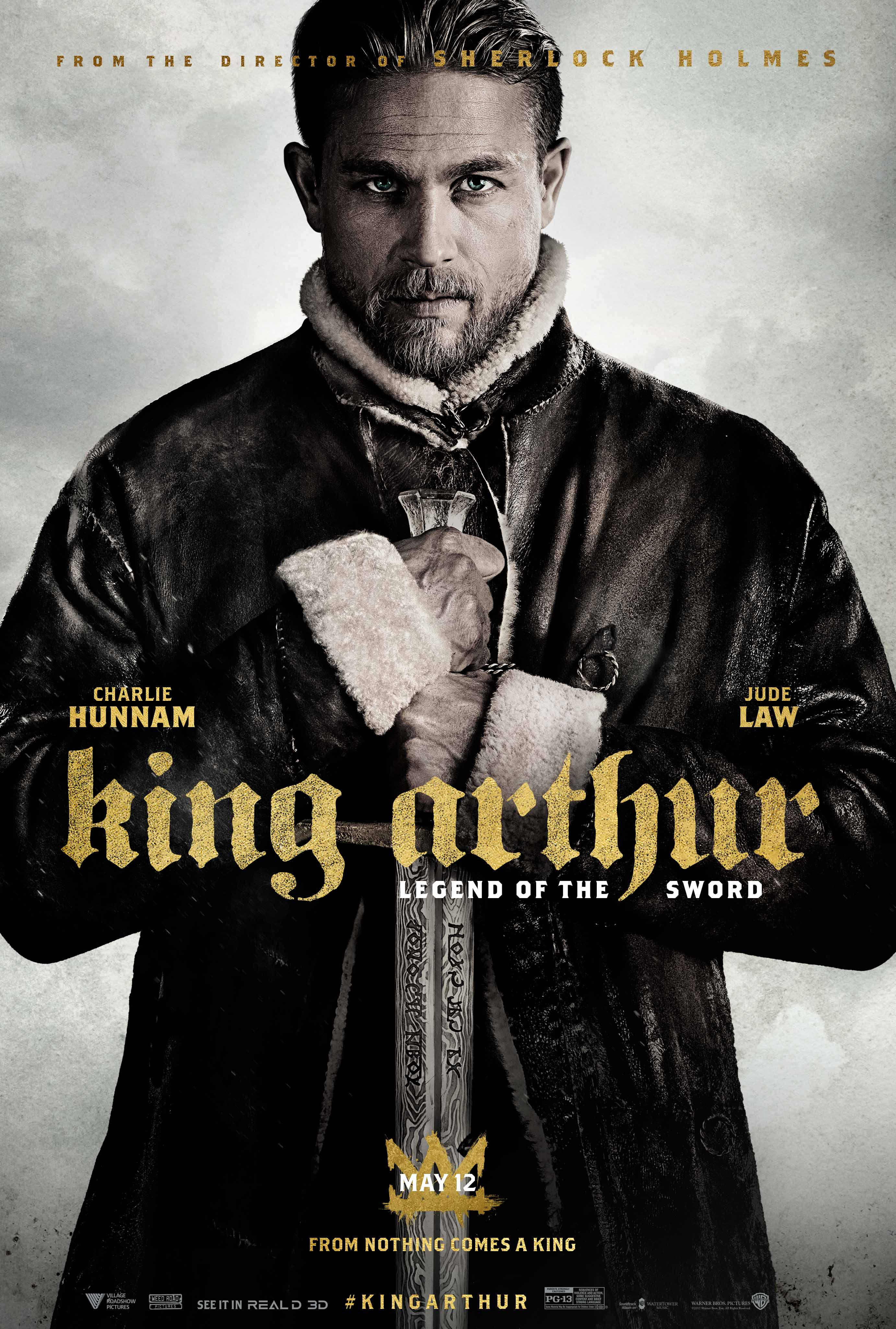 King Arthur: Legend Of The Sword Poster Teases A Hero In The Making