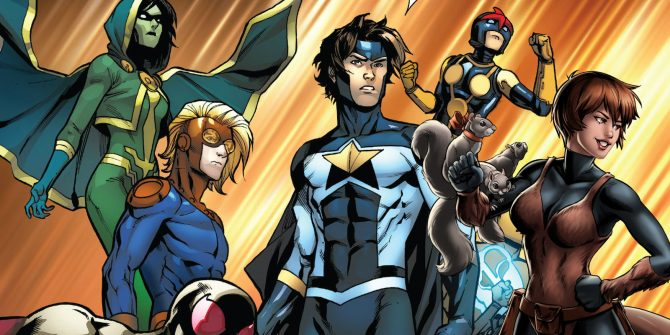 Freeform Reveals the Cast of Marvel's 'New Warriors'