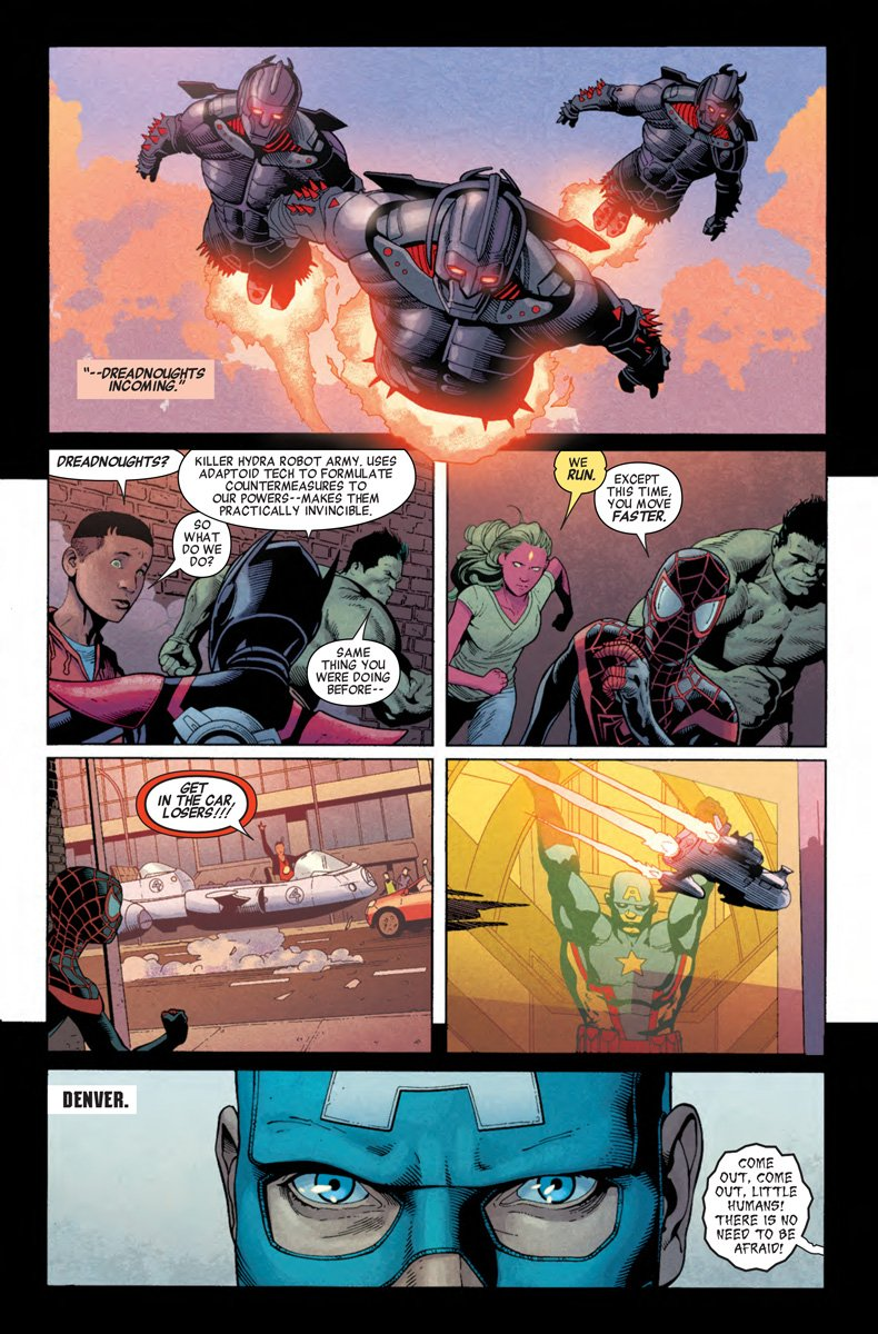 Secret Empire #1 Trailer And Preview Images Surface