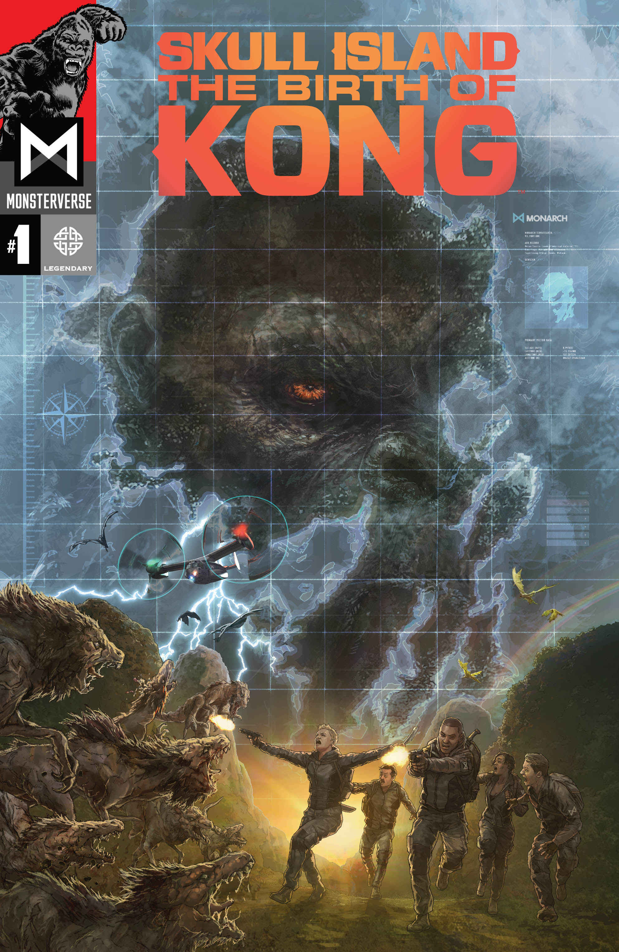 Legendary Marks Skull Island: The Birth Of Kong's Launch With Intense Trailer