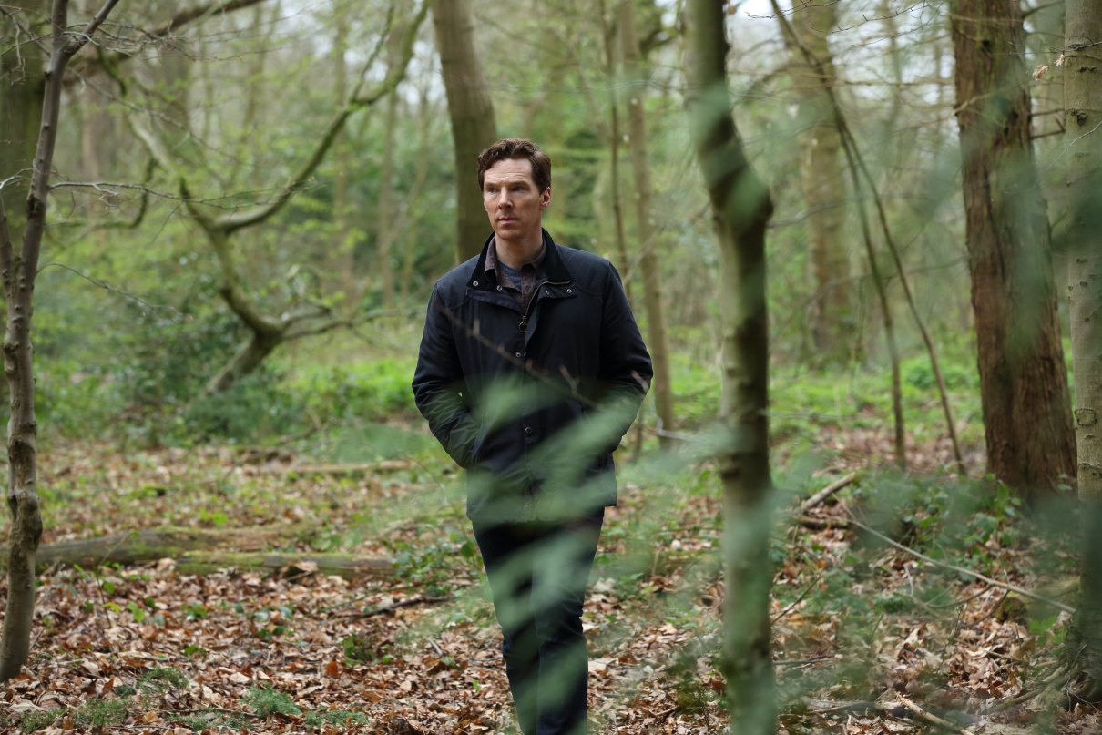 The Child In Time Casts Kelly Macdonald As First Photo Unveils A Mournful Benedict Cumberbatch