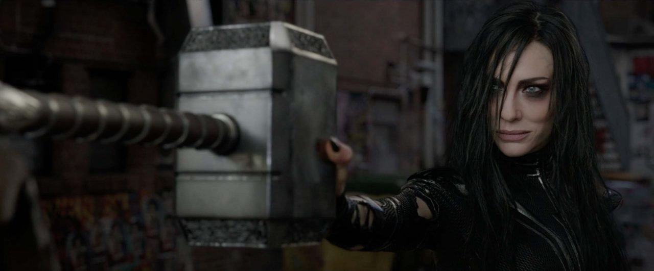 Hela Unleashes Her Wrath In Thor: Ragnarok Screencaps; New Poster Thrusts Thor Into The Ring
