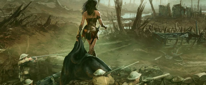 New Wonder Woman Concept Art Focuses On Diana Prince's World War I Adventure