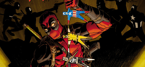 Wade Wilson Sharpens His Blades For Deadpool Kills The Marvel Universe Again