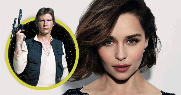 Emilia Clarke Is Afraid To Talk About The Han Solo Film
