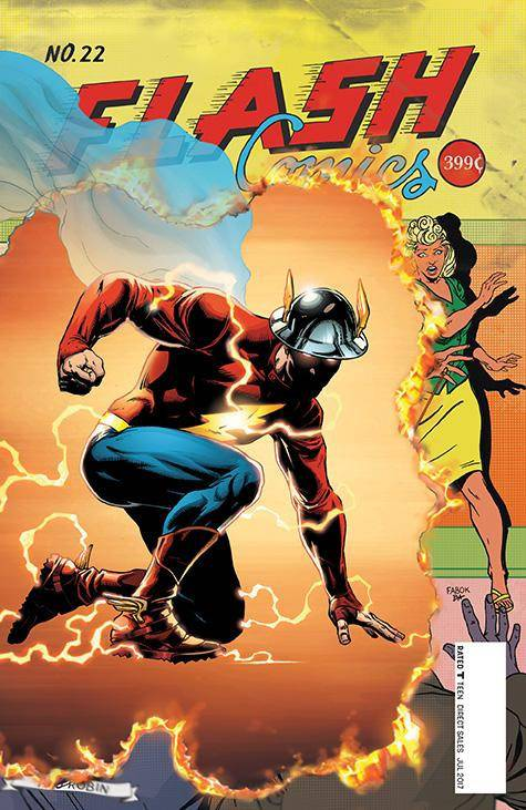 Check Out Some Of DC's Most Eye-Catching Variant Covers For May, Including The Flash #22