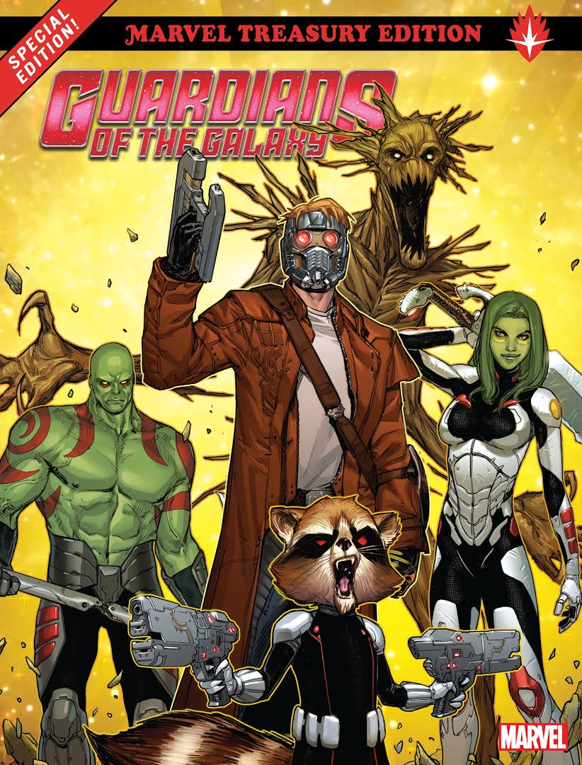Guardians Of The Galaxy: All-New Marvel Treasury Edition Review