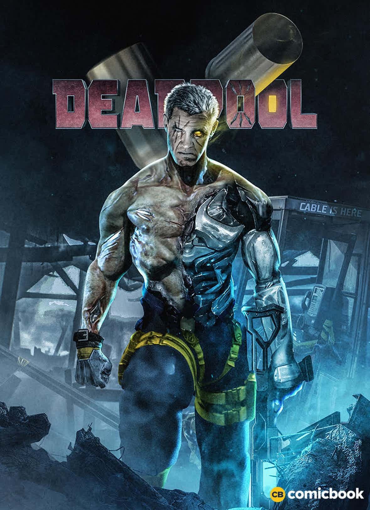 See Josh Brolin As Cable In New Fan-Art As Rob Liefeld Weighs In On Latest Deadpool 2 Casting Addition