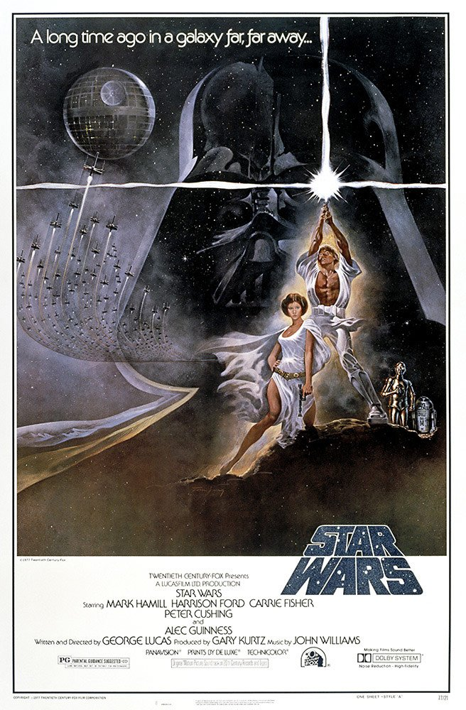 Here's What You May Not Know About The Original Star Wars Poster