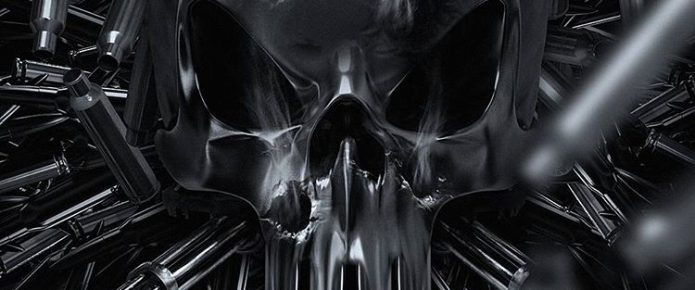 Stylish Fan Poster For The Punisher Features Lots Of Guns