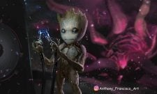 New Guardians Of The Galaxy Vol. 2 Concept Art Focuses On Baby And Adolescent Groot