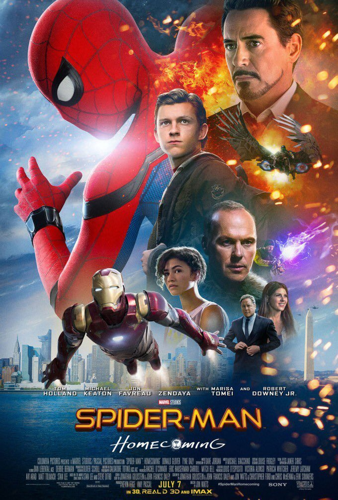 Spider-Man Homecoming One sheet