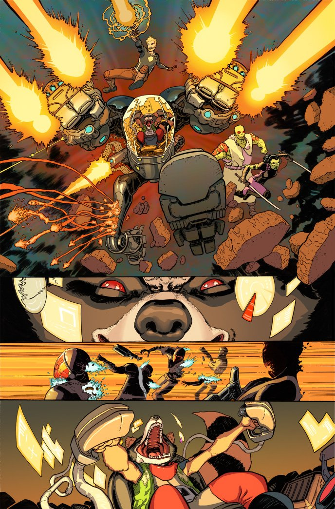 Marvel Offers First Look Inside All-New Guardians Of The Galaxy #4