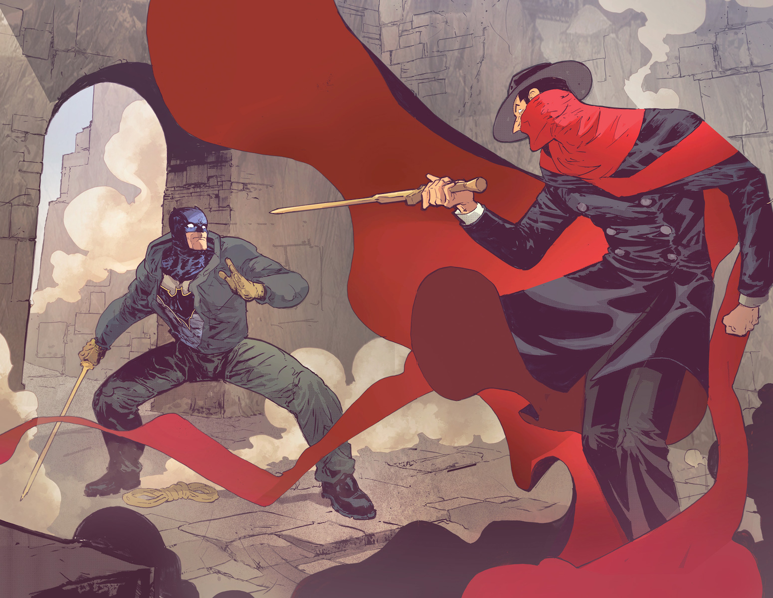 Batman/The Shadow #2 Review