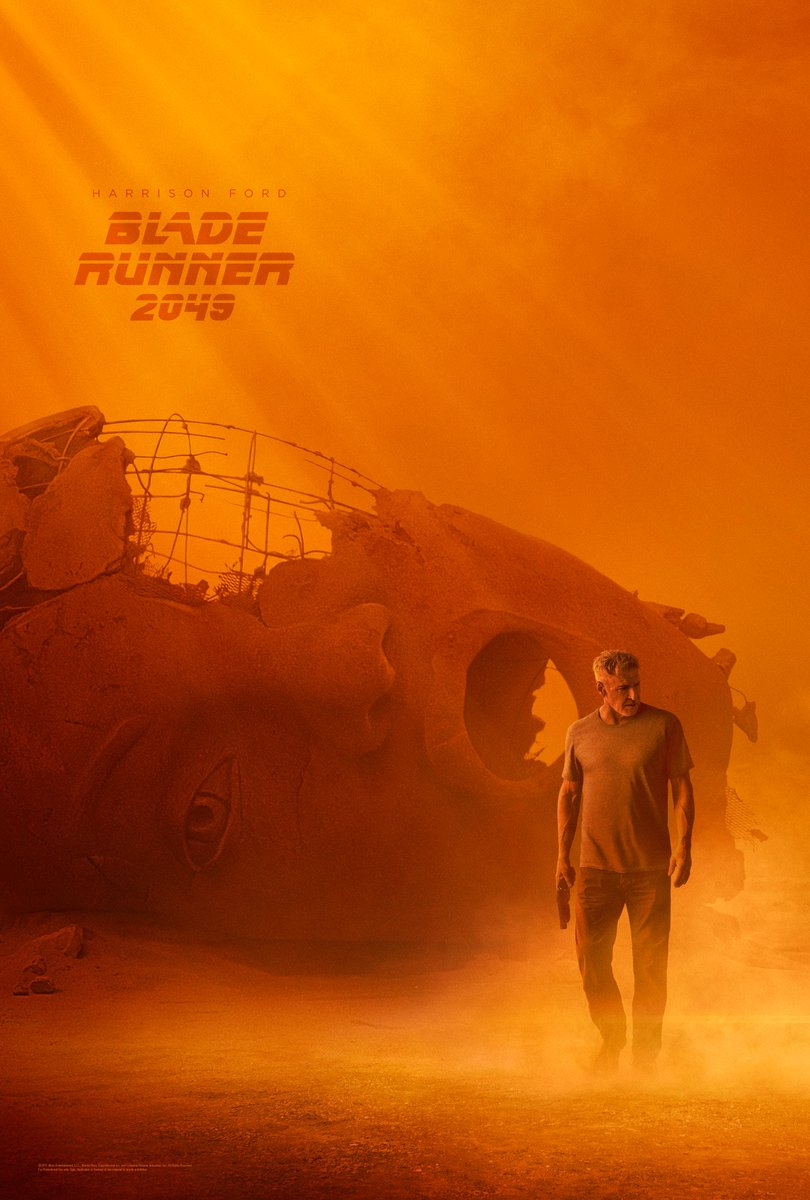 Two Apocalyptic Posters For Blade Runner 2049 Spotlight The Veteran And The Hotshot