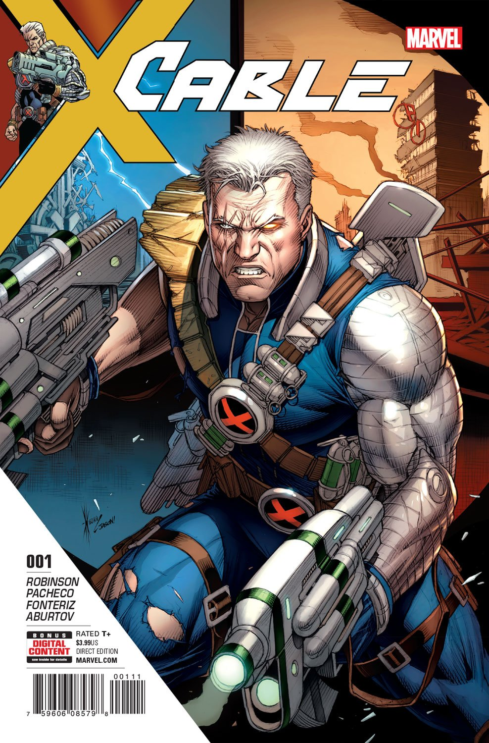 Cable #1 Looks To Be One For The Ages
