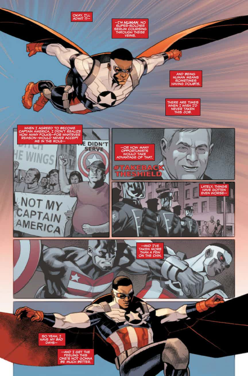 Captain America: Sam Wilson Vol. 4 - #TakeBackTheShield Review