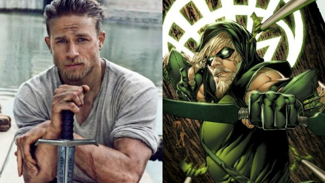 "Charlie Hunnam On Playing Green Arrow: ""DC, Give Me A Call"""
