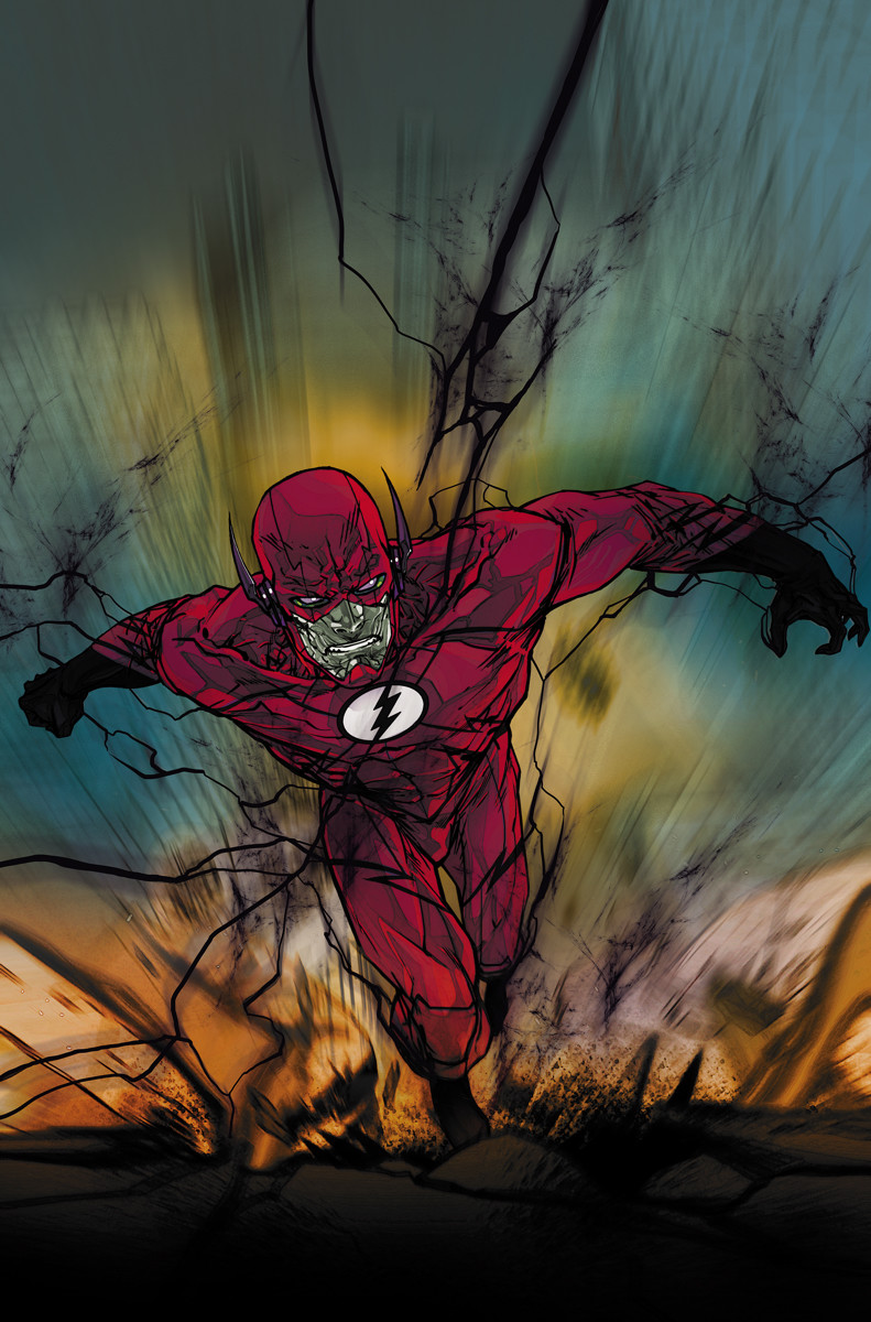 Negative-Flash Makes The Scene This August In The Flash #28 & 29