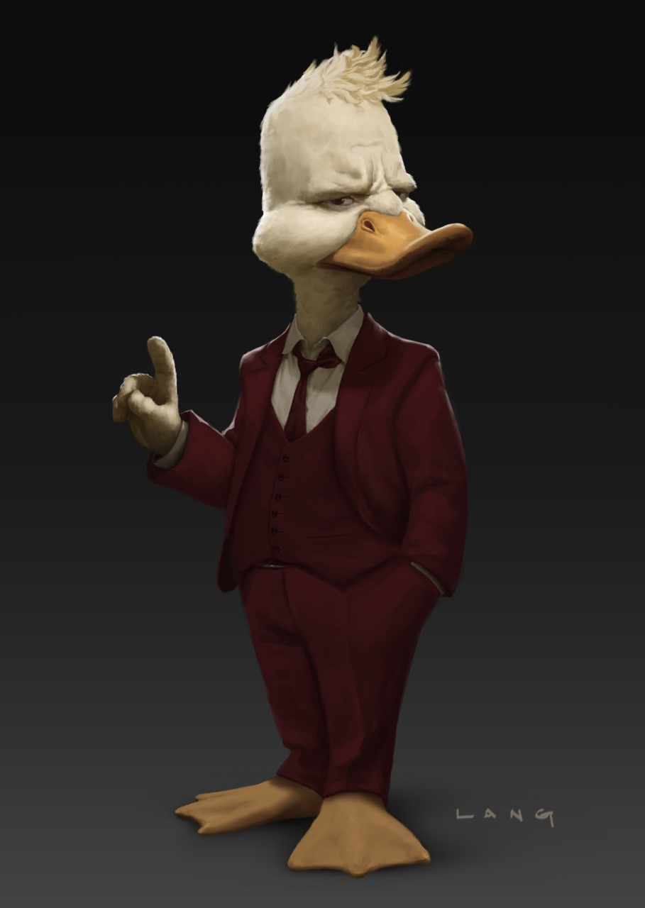 Another Piece Of Artwork For Guardians Of The Galaxy Vol. 2 Draws Attention To Howard The Duck