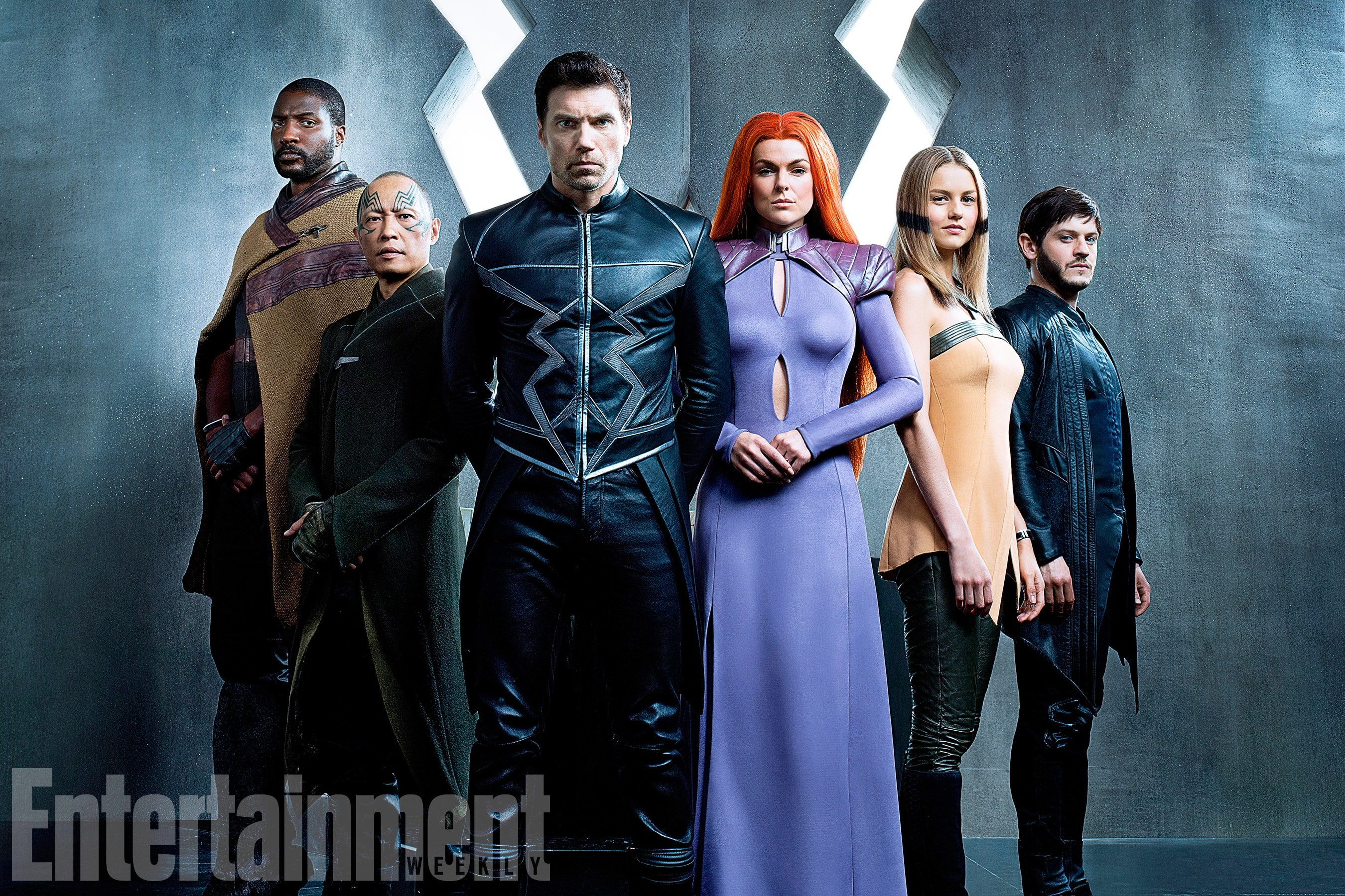 Marvel's Royal Family Gathers Together In First Cast Photo For Inhumans