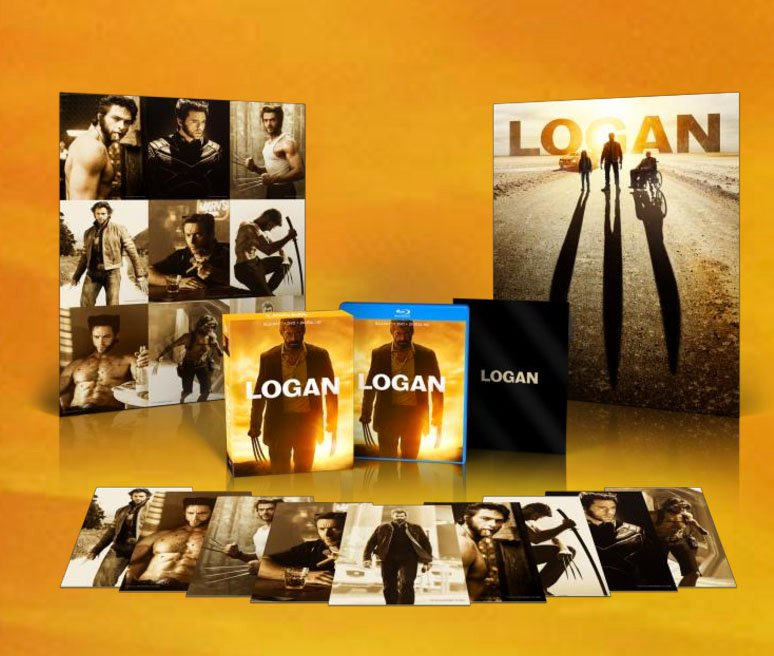 Logan Blu-Ray Dated For Late May, Special Features Include Black-And-White Cut