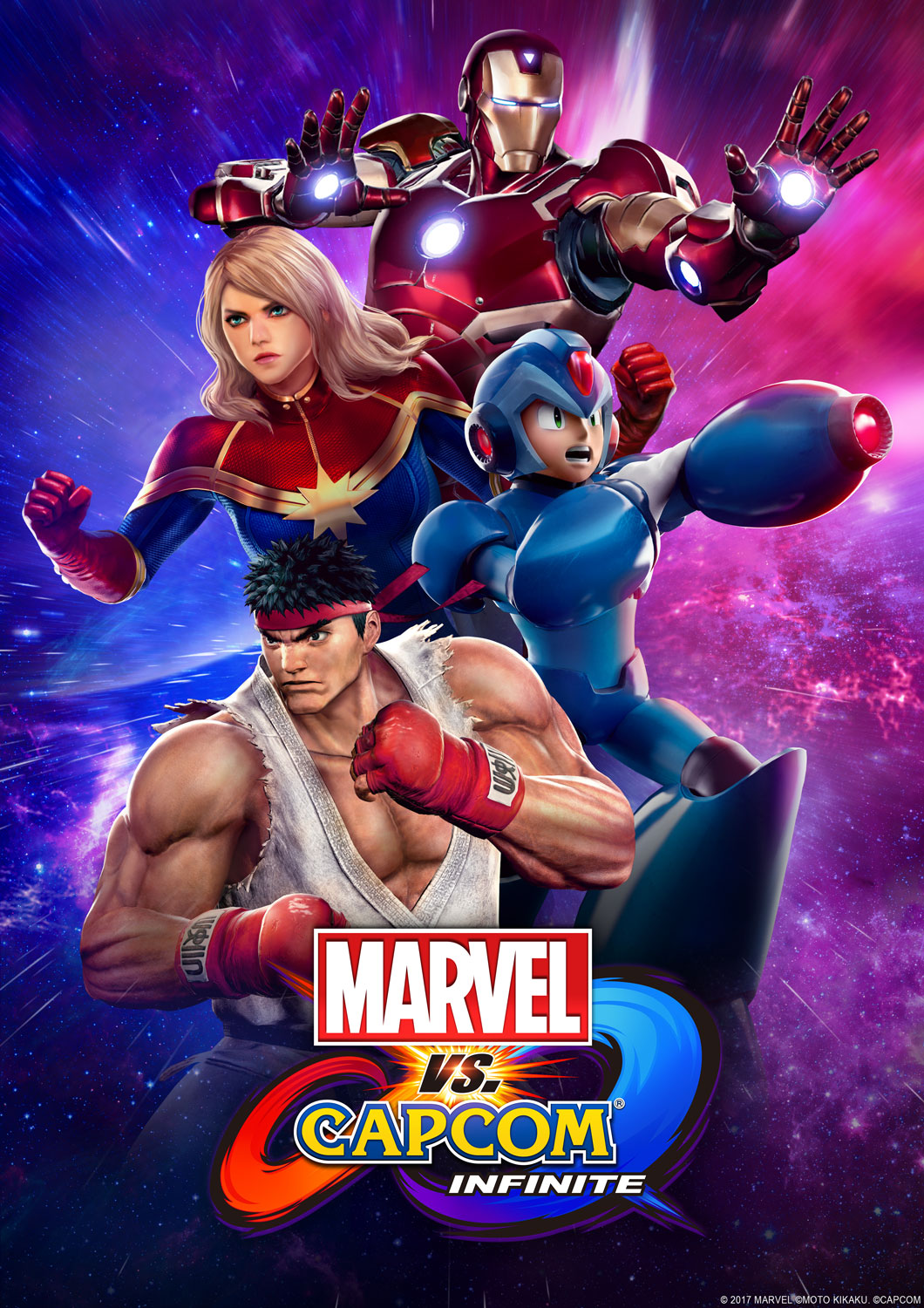 Marvel Vs. Capcom: Infinite Variant Covers Announced For August