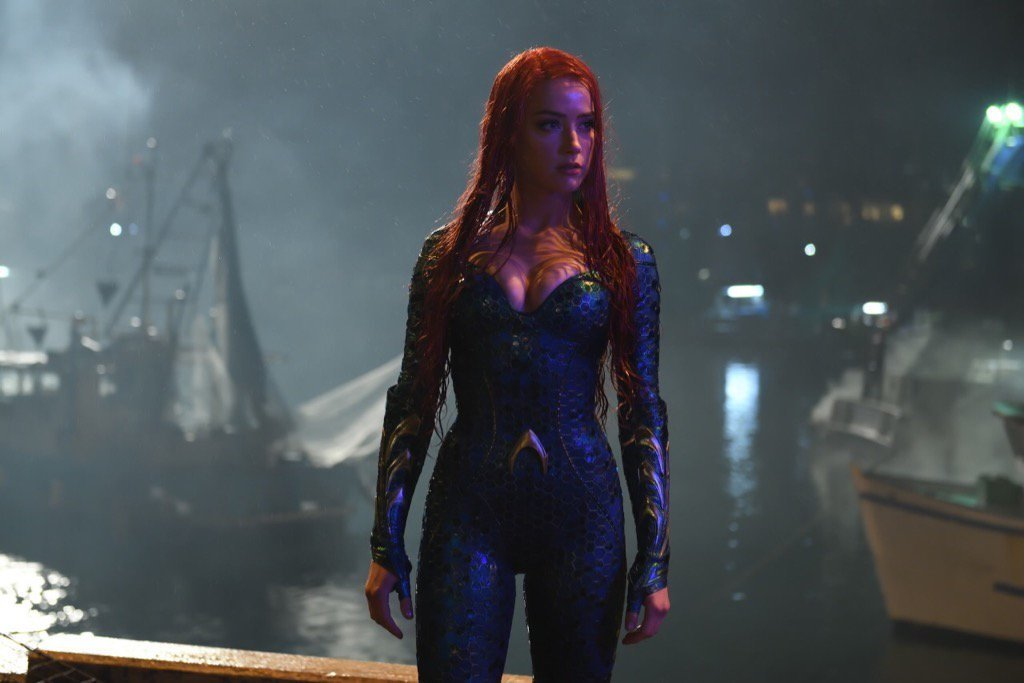 Amber Heard Shares Another Stunning Look At Mera In Aquaman