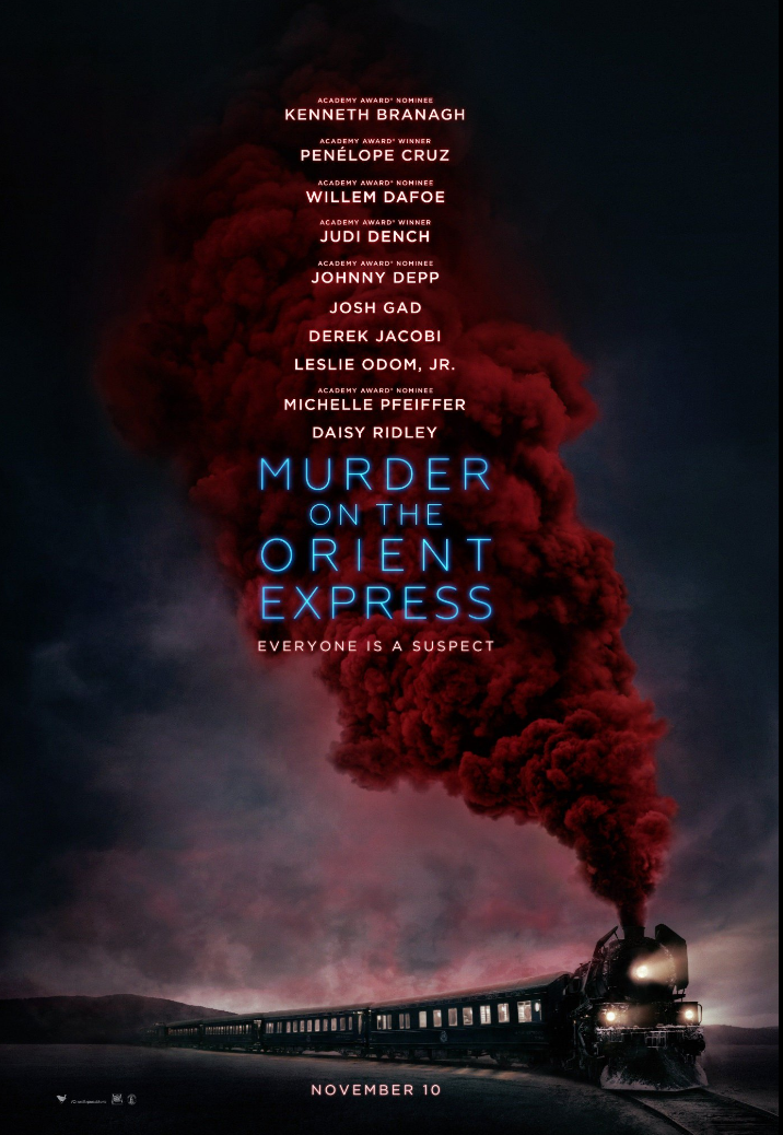Clues Are Scattered Everywhere In The Nail-Biting First Trailer For Murder On The Orient Express