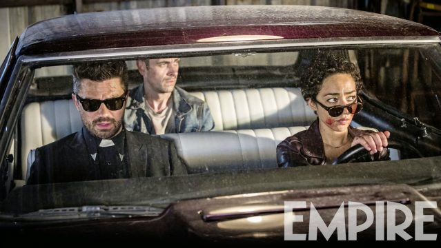Dominic Cooper Promises A Radically Different Tone With Preacher Season 2 As Empire Conjures Up New Pic